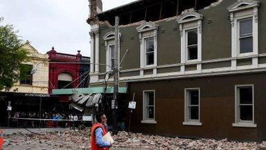 VIDEO   Melbourne'i raputas maavärin, mis kahjustas ka hooneid