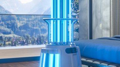 Kinema Robotics | Koolides võiks desinfitseerivat UV-Crobotit kasutada kui õpilased on oma koolipäeva lõpetanud