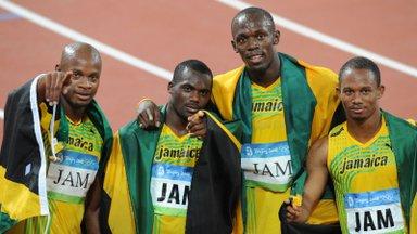 Jamaica tippsprinter jäi uuesti dopinguga vahele