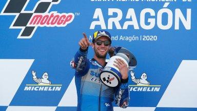 MotoGP etapp pakkus uue võitja, vahetus ka sarja üldliider