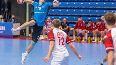 Eesti käsipallikoondislaste väravatesadu Saksamaal sai jätku