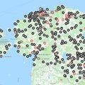 Tehtud! Kõik Eesti korvpalli väliväljakud said ühele kaardile