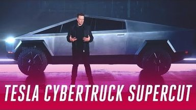 ВИДЕО | Tesla презентовала пуленепробиваемый Cybertruck