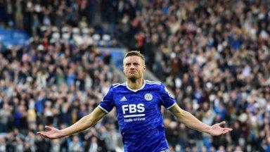Neli väravat kõmmutanud Leicester City lõpetas Manchester Unitedi rekordilise seeria