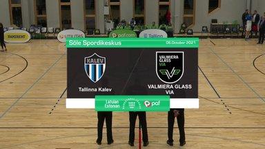 TÄISPIKKUSES | Korvpall: Tallinna Kalev - Valmiera Glass Via