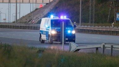 В Ласнамяэ на пешеходном переходе сбили человека, в Маарду микроавтобус вылетел на встречку