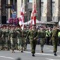 ФОТО: В параде по случаю Дня независимости в Киеве приняли участие и эстонские военные