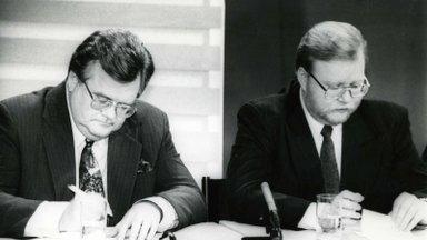 Milline üllatuslik ese ühendab taasiseseisvunud Eesti kaht tulist poliitilist konkurenti Edgar Savisaart ja Mart Laari?