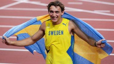 Armand Duplantis sai Helsingis meeldiva üllatuse osaliseks: see valmistas lausa piinlikkust