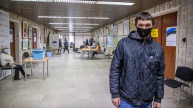 Житель Кохтла-Ярве: проголосовал по просьбе друга за его маму. Ее имя не знаю, знаю только номер