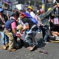 Tai pealinnas rünnati opositsiooni meeleavaldust