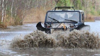 Maastikusõitjad panid oskused proovile Ida-Virumaa raskel rajal