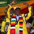 Zimbabwe presidendivalimiste võitjaks kuulutati valitseva erakonna esindaja Mnangagwa