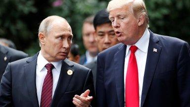 KIIRÜLEVAADE   Trumpi ja Putini põgus jutuajamine vallandas skandaali. Kes mida ütles?