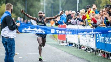 FOTOD ja VIDEO | Tallinna maratonil võidutses keenialane Mukunga, sündis ka Guinnessi rekord
