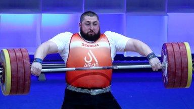 VIDEO   Gruusia vägilane andis olümpia eel tormihoiatuse ja purustas treeningul kaks maailmarekordit