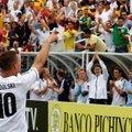 VIDEO: Podolskil kulus vaid seitse sekundit, et Ecuadorile värav lüüa ja ajalugu teha!