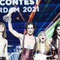 VIDEO   Itaalia Eurovisioni võidule aidanud laulja eitab, et tegi otse-eetris kokaiini: testige meid, meil pole midagi varjata