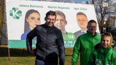 Репинский не исключает коалицию в Йыхви с EKRE