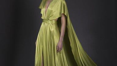 Riina Põldroos oma Kuldnõela kollektsioonist: pärast kõiki neid musti ja beeže kleidirivisid tahan nüüd näidata ilu ja rõõmu
