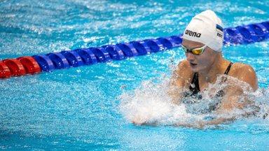 Eneli Jefimova parandas Berliinis kahel korral Eesti rekordit ja saavutas teise koha