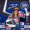 Анастасия Коваленко стала чемпионкой Италии по мотогонкам