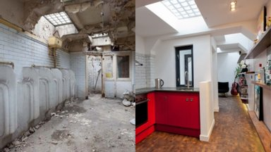 ДО И ПОСЛЕ | Невероятное преображение! Как из общественного туалета сделали стильный домик