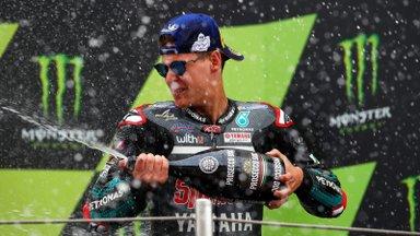 Dovizioso sõit lõppes avaringil, MotoGP sarjas vahetus üldliider
