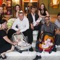 ФОТО: Поздравляем с пополнением молодые семьи Русского театра!