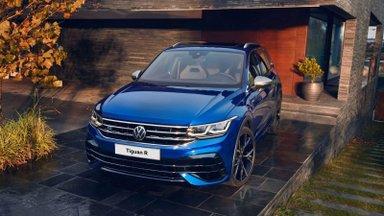 Proovisõit: äsja Eestisse saabunud uus VW Tiguan R