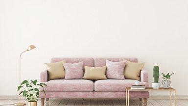 Только не ковер! 9 простых и интересных способов оформить пространство над диваном