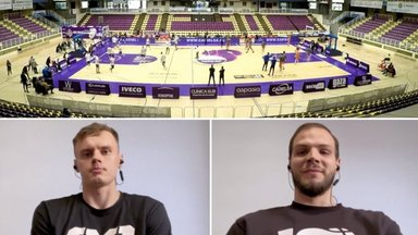 BASKET TV | Hispaania esiliigas pallivad Paasoja ja Puidet meeskonda sisseelamisest, treenerist ja uue hooaja plaanidest