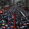 Tohutu rahvamass tuli Hongkongi tänavatele