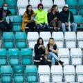 Spordivõistlustele lubatakse homsest taas pealtvaatajaid