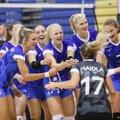 Eesti võrkpallinaiskond võitis viimases kontrollkohtumises Ukrainat haruldase skooriga