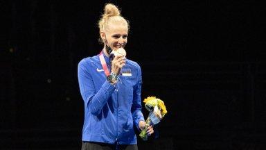 INTERVJUU   Olümpiapronks Katrina Lehis: ma ei too koju medaleid, vaid kolvikarikaid nagu Pikne McQueen