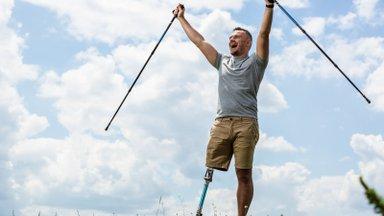 KUULA | Puusa ega jalga pole, aga kõndida saab. Kuidas see võimalik on?