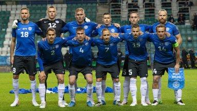 Eesti jalgpallikoondis tegi maailma edetabelis korraliku tõusu