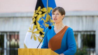 Kersti Kaljulaid esmakordselt avameelselt soolisest võrdõiguslikkusest: üksikemad tahavad ka käia komandeeringus ja see peaks olema okei