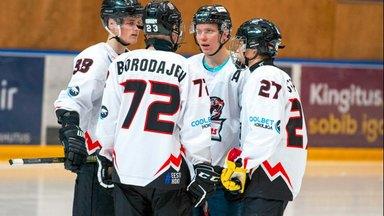 Riias toimuma pidanud Eesti jäähokiklubi mäng lükati edasi