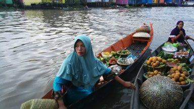Kindel põhjus Kalimantani külastamiseks on lausa paradiislik köök Malai, Jaava, Hiina ja India mõjudega