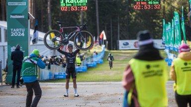 FOTOD | Tartu Rattamaratoni võidumees: eelmine aasta olin neljas. Täna tegin kõik vastupidi
