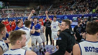Ilus kaotus. Eesti korvpallile võit