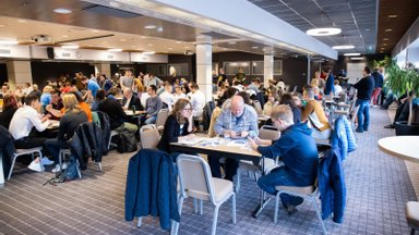 ФОТО   Сильнейшие команды знатоков определил Открытый Чемпионат Эстонии по интеллектуальным играм