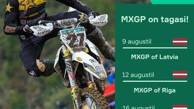 Motokrossi MM-sari tuleb tagasi koguni kolme etapiga Lätimaal