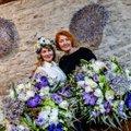 ВИДЕО и ФОТО | Смотрите, какие уникальные букеты от эстонских флористов-чемпионов получат Керсти Кальюлайд и Кая Каллас в День независимости