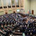 Poola opositsioon lõpetas parlamendi blokeerimise