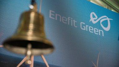 Enefit Greeni aktsia avanes teisel kauplemispäeval tõusuga, kuid langes peagi miinusesse
