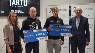 Eesti rattaspordis haruldase saavutusega hakkama saanud Madis Mihkels pälvis kopsaka preemia