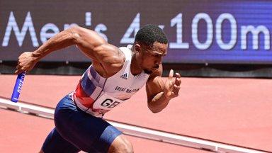 Suurbritannia teateneliku Tokyos hõbedale aidanud sprinteri dopingu B-proov oli samuti positiivne
